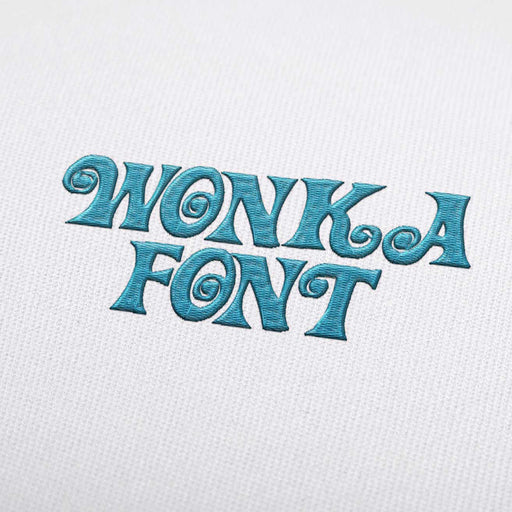 Wonka - Machine Embroidery Design Fonts Download