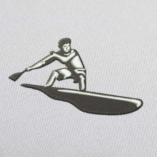 Surf Rowing Embroidery Design for Download