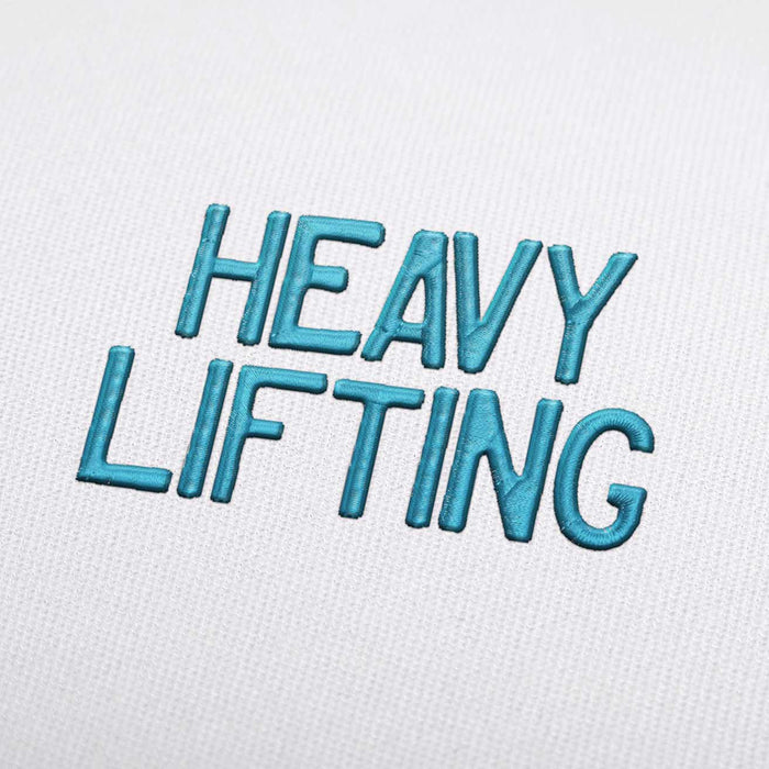 Heavy Lifting - Machine Embroidery Design Fonts Download