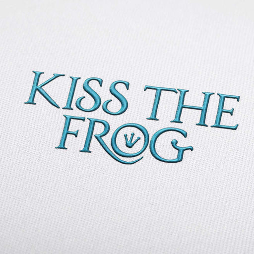 Kiss The Frog Font - Machine Embroidery Design Fonts Download