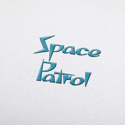 Space Patrol - Machine Embroidery Design Fonts Download