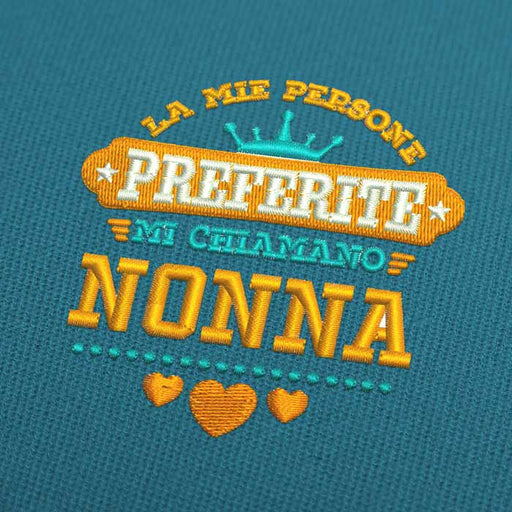 La Mie Persone Preferite Mi Chiamano Nonna Embroidery Design Download