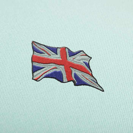 Waving United Kingdom Flag Embroidery design for Instant Download