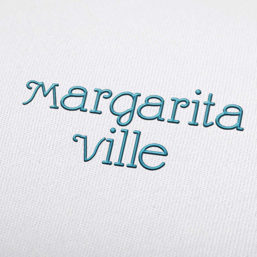 Margarita Ville Font - Machine Embroidery Design Fonts Download