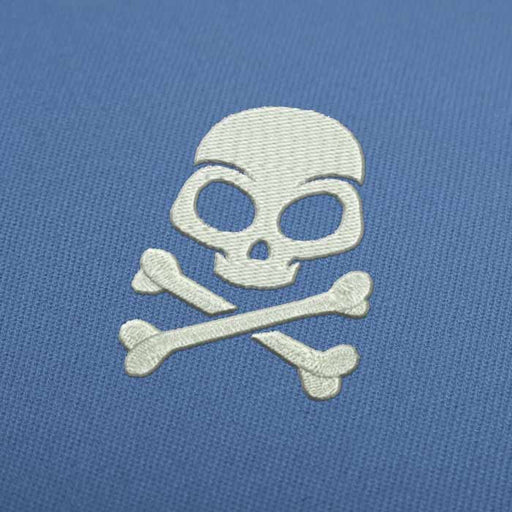 Pirate Skull Embroidery design for Instant Download