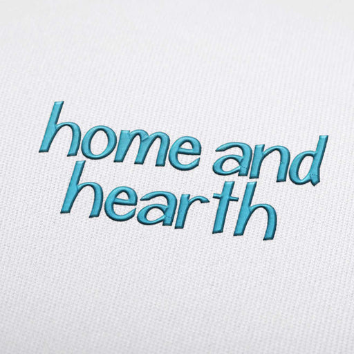 Home and Hearth Font - Machine Embroidery Design Fonts Download