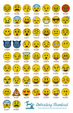 Emoticons Emoji Pack 58 Collection - Model guide