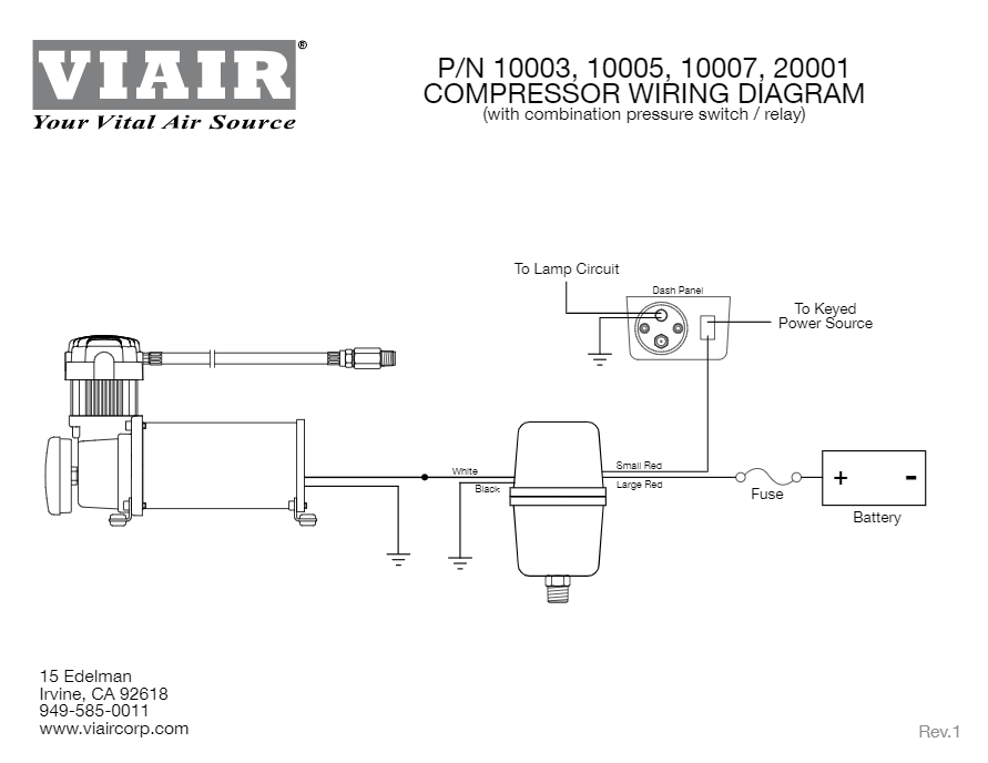 viair compressor wiring diagram viair constant duty onboard air system hornblasters  viair constant duty onboard air system