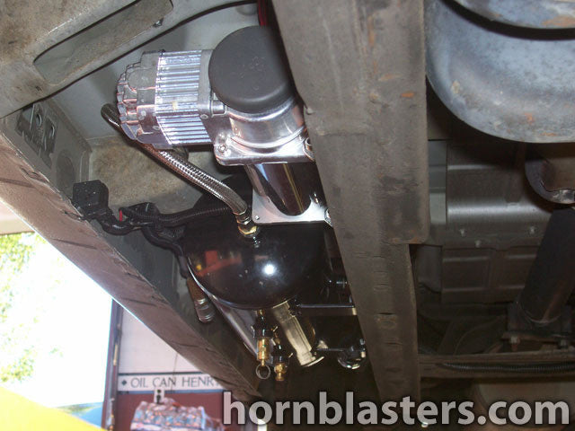 2000 Ford F150 Super Cab Train Horn Install Hornblasters