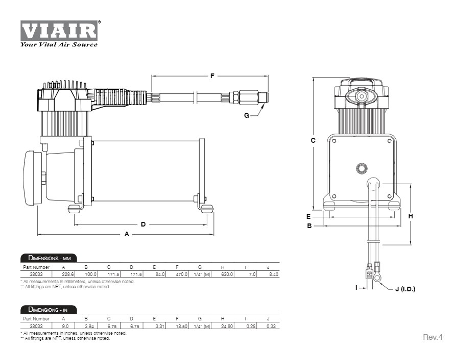 Viair Compressor Wiring - Wiring Diagram Srconds on