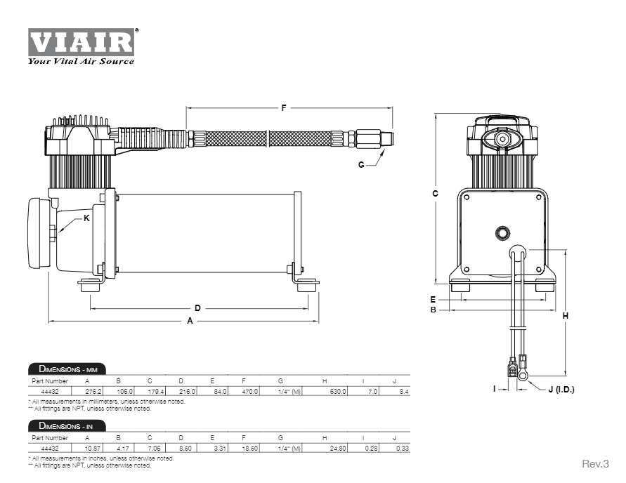 viair compressor wiring diagram viair dual 444c air compressor kit hornblasters  viair dual 444c air compressor kit