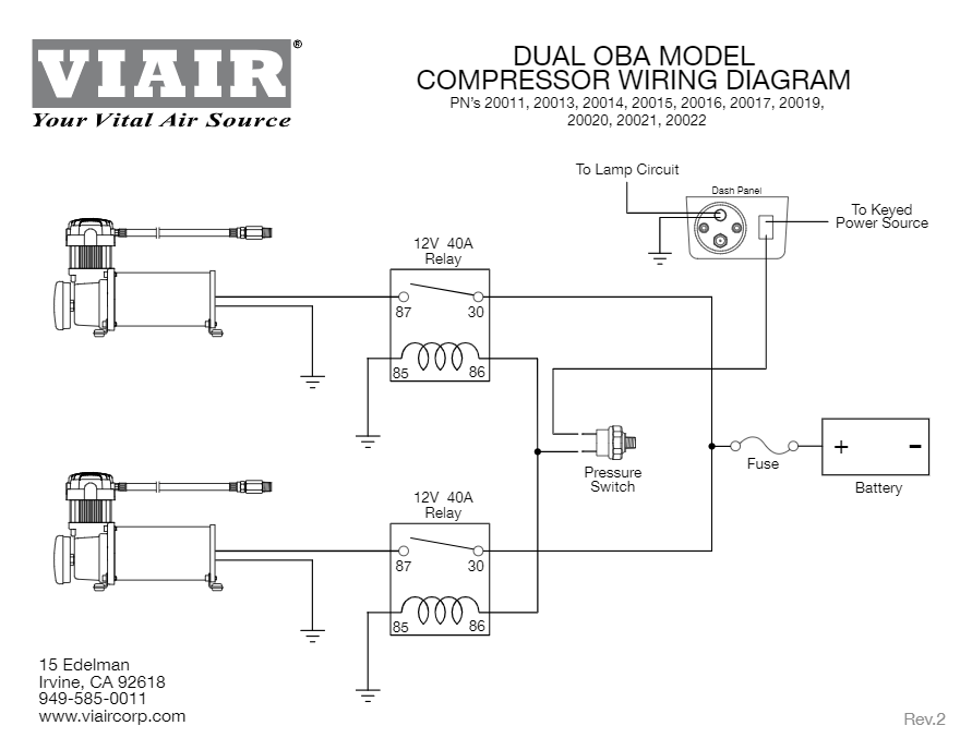 Arb Onboard Air Compressor Wiring Diagram Manual Guide