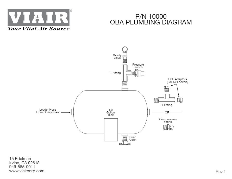 viair compressor wiring diagram viair light duty onboard air system hornblasters  viair light duty onboard air system