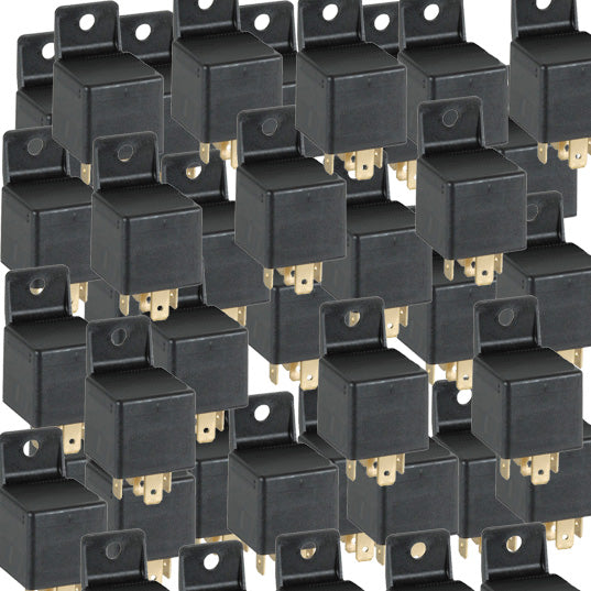 70 Pack Of 40 Amp 4 Pin 12 Volt Relay