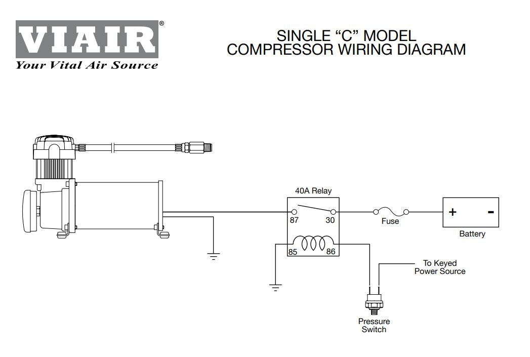 air pressure relay wiring diagram viair 90103 pressure switch 165 200 psi 2 40amp viair relays air  200 psi 2 40amp viair relays air