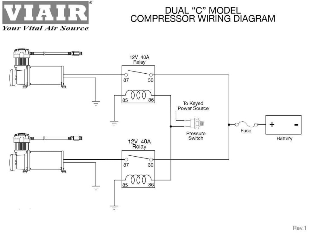 manuals \u0026 schematics\u2013 hornblasters Speed Air Compressor Wiring Diagram