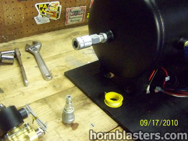 Nick U0026 39 S 2001 Gmc Sierra 2500 Hd Extended Cab Train Horn Install