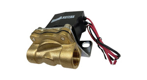 "HornBlasters Brass 1/2"" 24 Volt Electric Air Valve"