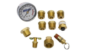 "HornBlasters 5-Gallon Single 1/4"" Compressor Fitting Kit 1/4"" Horn"