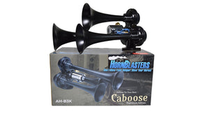 HornBlasters Caboose Stealth Black Air Horn