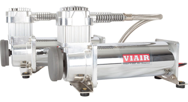 viair dual 444c chrome air compressor kit - hornblasters horn wiring diagram with relay arena horn wiring diagram #8