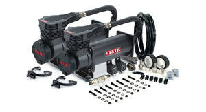 Viair 485C Stealth Black Dual Pack Of Air Compressors