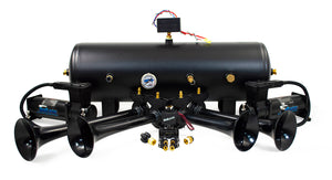 Conductor's Special 8 Gallon Nightmare Edition Train Horn Kit - HornBlasters