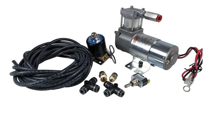 Motorcycle Air Ride Suspension Modification Kit