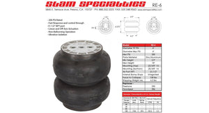 Slam Specialties RE-6 200 PSI Air Bag