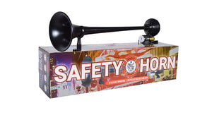 HornBlasters Safety Black Air Horn