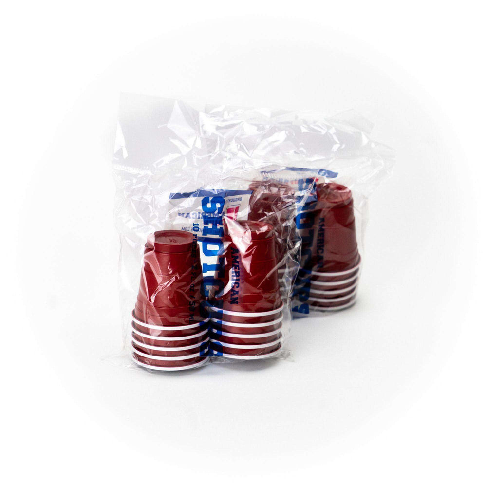 Red Shot Cups (10er Pack) Shot Cups RedCupShop