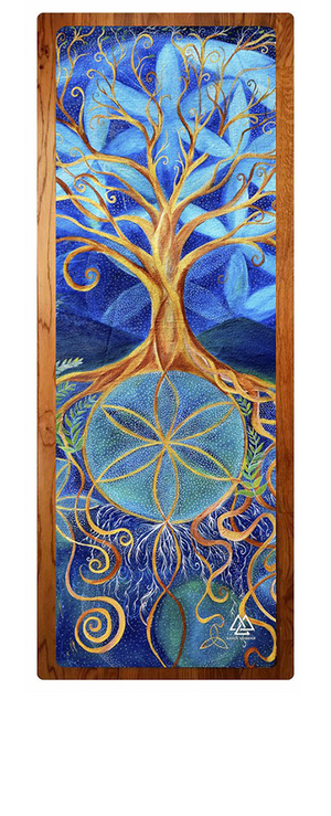 """Alchemical Growth"" Yoga Mat"