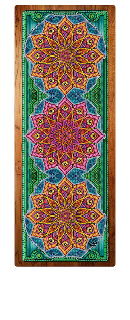 """Mandala Magic"" Yoga Mat"