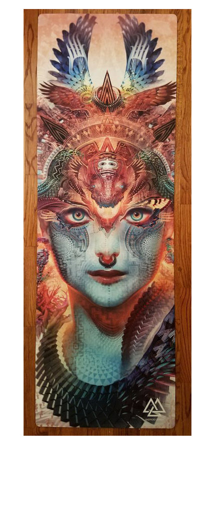 """Dharma Dragon"" Yoga Mat"