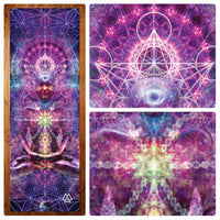 """Astral Aura"" Yoga Mat"