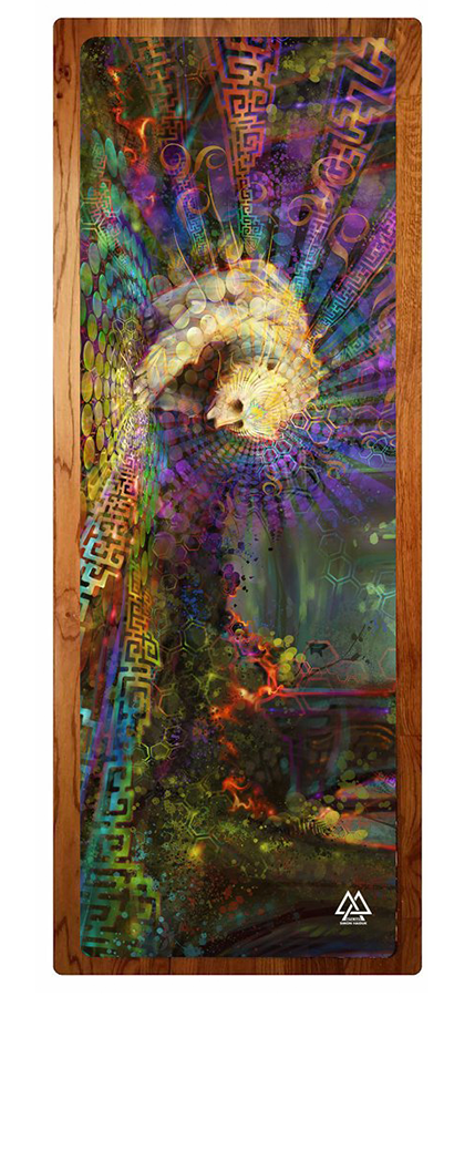 """Spirit Bear"" Yoga Mat"