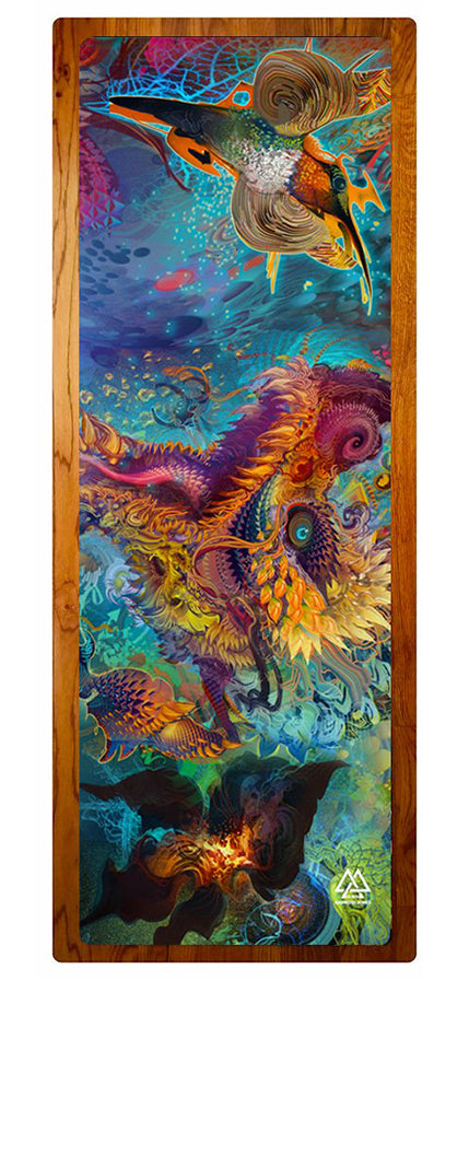 """Humming Dragon"" Yoga Mat"