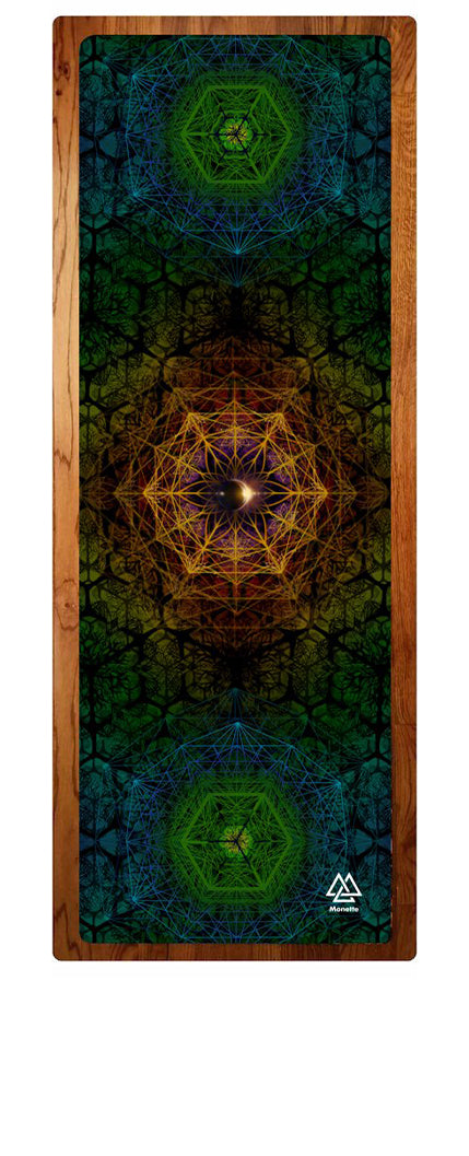 """Earth Mandala"" Yoga Mat"