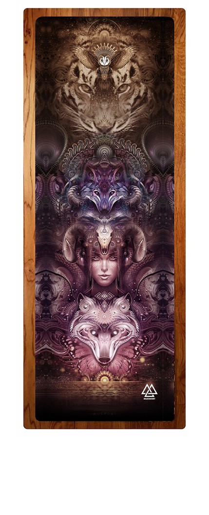 """Totemic"" Yoga Mat"