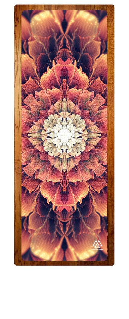 """Mandala Bloom"" Yoga Mat"