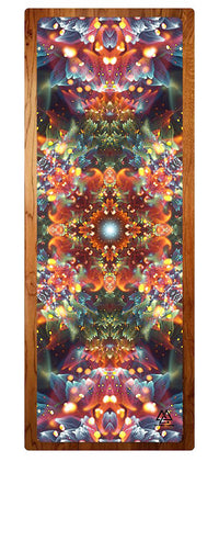 """Radiant Bliss"" Yoga Mat"
