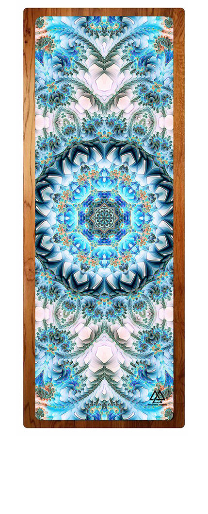 """Return to Purity"" Yoga Mat"