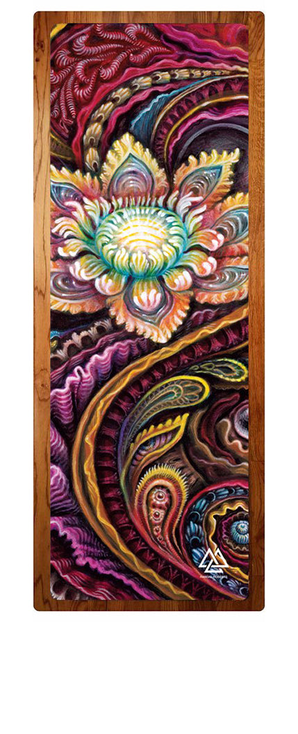 """Flower Power"" Yoga Mat"