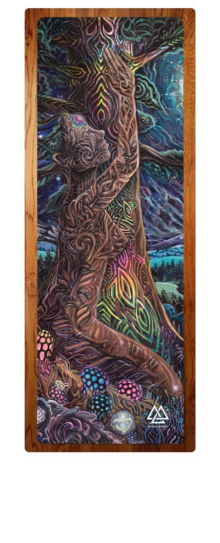 """Northern Lights"" Yoga Mat"