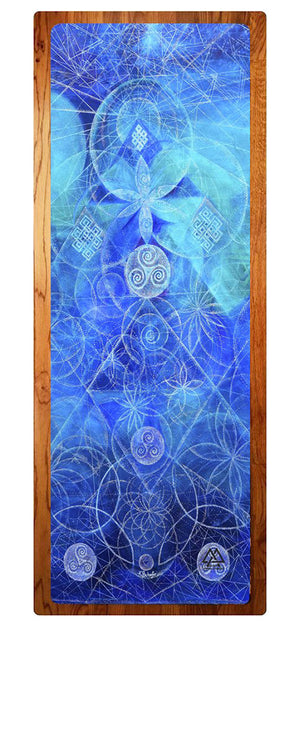 """Seeds of Support"" Yoga Mat"