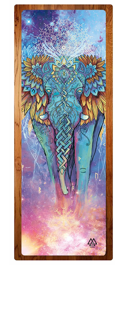 """Elephant Spirit"" Yoga Mat"