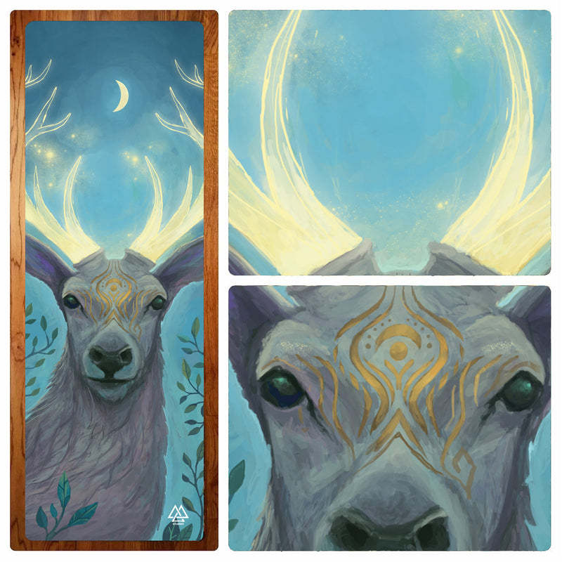 """Deer Spirit"" Yoga Mat"