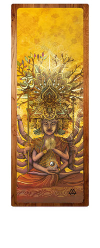 """From Samsara to Nirvana"" Yoga Mat"