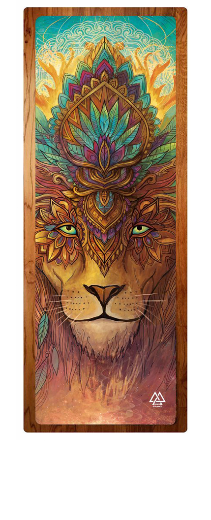 """Lion Spirit"" Yoga Mat"