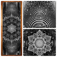 """Aligned Flower"" Yoga Mat"